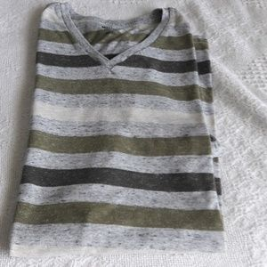 Mossimo Supply Co  stripe t-shirt  Xl